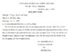 Tập làm văn – Luyện tập làm đơn trang 78 Vở bài tập (SBT) Tiếng Việt lớp 5 tập 1: Hãy viết lá đơn theo một trong hai đề bài ở sách Tiếng Việt 5, tập một (trang 111 – 112) hoặc đề bài do thầy cô hướng dẫn