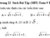 Bài 100, 101, 102 trang 22 SBT Toán 9 tập 1: Tìm điều kiện xác định của các biểu thức sau.