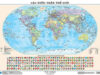 Bài 1,2,3 trang 11, 12 SBT Địa lý 6: Dựa vào tỉ lệ bản đồ, chúng ta có thể biết được những gì?