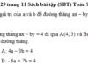 Bài 29, 30, 31 trang 11, 12 SBT Toán 9 tập 2: Tìm giá trị của m để nghiệm của hệ phương trình dưới đây cũng là nghiệm của phương trình 3mx – 5y = 2m + 1?