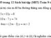 Bài 32, 33, 34 trang 12 SBT Toán 9 tập 2: Tìm giá trị của m để ba đường thẳng sau đồng quy