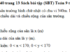 Bài 39, 40, 41, 42 trang 13, 14 SBT Toán 9 tập 2: Một sân trường hình chữ nhật có chu vi 340m. Ba lần chiều dài hơn bốn lần chiều rộng là 20m. Tính chiều dài và chiều rộng của sân trường