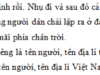 Chính tả – Tuần 22 – trang 22 VBT Tiếng Việt lớp 5 tập 2: Gạch dưới các danh từ riêng là tên người, tên địa lí trong đoạn văn