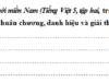 Chính tả – Tuần 29 trang 66 VBT Tiếng Việt 5 tập 2: Viết lại tên các danh hiệu trong đoạn văn dưới đây cho đúng