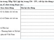 Chính tả – Tuần 34 trang 97, 98 VBT Tiếng Việt lớp 5 tập 2: Hãy viết tên một cơ quan, xí nghiệp, công ti,… ở địa phương em
