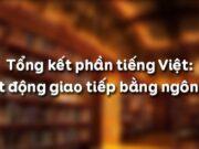 Soạn bài Tổng kết phần Tiếng Việt: Hoạt động giao tiếp bằng ngôn ngữ Văn 12 trang 178 ngắn: Phân tích sự đổi vai và luân phiên lượt lời trong hoạt động giao tiếp trên