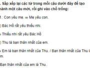 Luyện từ và câu – Tuần 2 trang 7 Vở BT Tiếng Việt 2 tập 1: Viết các từ có tiếng học: Học hành, học giỏi, học tập