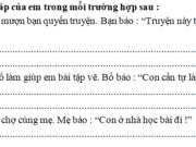 Tập làm văn – Tuần 32 trang 62 VBT Tiếng Việt 2 tập 2: Viết lại 2 – 3 câu trong một trang sổ liên lạc của em