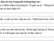 Tập làm văn – Tuần 33 trang 65 VBT Tiếng Việt lớp 2 tập 2: Hãy viết một đoạn văn ngắn (khoảng 3 – 4 câu) kể về một việc tốt của em (hoặc của bạn em)