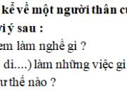 Tập làm văn – Tuần 34 trang 69 Vở bài tập Tiếng Việt 2 tập 2: Mẹ dạy cho em những điều hay lẽ phải, biết tôn trọng và giúp đỡ người khác. Sau này khi lớn lên em cũng làm giáo viên như mẹ
