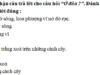 Tiết 3 – Tuần 27 trang 36 VBT Tiếng Việt lớp 2 tập 2: Viết lời đáp của em trong mỗi trường hợp sau: Khi bạn xin lỗi vì đã vô ý làm bẩn quần áo em