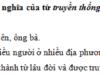 Luyện từ và câu – Mở rộng vốn từ : Truyền thống trang 45 VBT Tiếng Việt 5 tập 2: Dựa theo nghĩa của tiếng truyền, em hãy xếp các từ ngữ cho trong ngoặc đơn vào ba nhóm