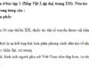 Luyện từ và câu – Ôn tập về dấu câu (Dấu phẩy) trang 85 VBT Tiếng Việt 5 tập 2: Dưới đây là 4 câu trong một đoạn văn. Ba trong bốn câu đó có dấu phẩy bị đặt sai vị trí. Em hãy gạch dưới chỗ dùng sai, dùng thừa dấu phẩy và sửa lại cụm từ có dấu dùng sai cho đúng