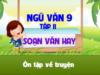 Soạn bài Ôn tập về truyện Văn 9 trang 144 (ngắn gọn): Lập bảng thống kê tác phẩm truyện hiện đại Việt Nam đã học