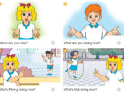 Bài tập – Unit 18: What are you doing? Sách BT Tiếng anh lớp 3 thí điểm: Tom and Tony are in the classroom. They are playing chess