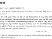 Soạn bài Liệt kê – Bài 28 trang 104 SGK văn lớp 7: Tìm phép liệt kê trong các đoạn trích sau đây ?