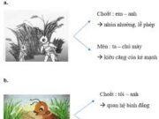 Soạn bài Xưng hô trong hội thoại – Bài 3 trang 38 Văn 9: Xác định các từ ngữ xưng hô trong hai đoạn trích ?