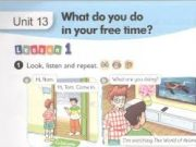 Vocabulary – Từ vựng – Unit 13 – What Do You Do In Your Free Time? SGK Anh 5 mới