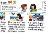 Vocabulary – Từ vựng – Unit 14 – What Happened In The Story? Sách Anh 5 mới