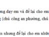 Tập làm văn – Tả người (Chuẩn bị cho bài kiểm tra viết) trang 96, 97 VBT Tiếng Việt 5 tập 2: Tả cô giáo (hoặc thầy giáo) đã từng dạy em và để lại cho em tình cảm tốt đẹp