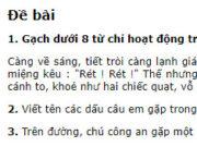 Tiết 4 – Tuần 18 trang 80 VBT Tiếng Việt lớp 2 tập 1: Viết tên các dấu câu em gặp trong đoạn văn trên: dấu phẩy, dấu chấm, dấu chấm than, dấu hai chấm, dấu ngoặc kép, dấu ba chấm