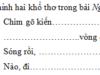 Tiết 5 – Tuần 27 – Ôn tập giữa kì 2 Trang 43 VBT Tiếng Việt lớp 3 tập 2: Điền chữ thích hợp trong ngoặc đơn vào chỗ trống để hoàn chỉnh đoạn văn sau