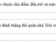 Tiết 5 – Ôn tập cuối kì 2 – Tuần 35 Trang 82 VBT Tiếng Việt 3 tập 2: Chú lính được cấp ngựa để đi làm công việc gấp cho quan