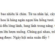 """Bài luyện tập – Tiết 7 – Ôn tập cuối kì 2 – Tuần 35 Trang 83 VBT Tiếng Việt lớp 3 tập 2: Trong câu """"Mùa xuân, cây gạo gọi đến bao nhiêu là chim"""", tác giả nhân hóa cây gạo bằng cách dùng một từ vốn chỉ hoạt động của người để nói về cây gạo"""