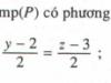 Bài 32, 33, 34, 35 trang 104 Sách Hình học 12 Nâng cao: Phương trình đường thẳng
