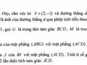 Đề kiểm tra giữa học kì 1 môn Toán lớp 11 – THCS & THPT Nguyễn Tất Thành 2019:  Cho tập A = {1,2,3,4,5,6,7}. Từ A có thể lập được bao nhiêu số tự nhiên gồm 4 chữ số đôi một khác nhau?