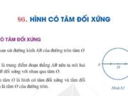 Bài 6 Hình có tâm đối xứng trang 111, 112 SGK Toán 6 Cánh diều tập 1