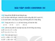 Bài tập cuối chương 3 Số nguyên trang 82 Toán lớp 6 Kết nối tri thức
