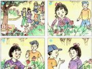 Tập làm văn – Tuần 1 trang 5 Vở bài tập Tiếng Việt 2 tập 1: Viết tiếp cho hoàn chỉnh các câu sau: Em tên là Đỗ Ngọc Phương Trinh