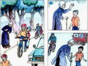 Tiết 6 – Tuần 18 trang 82 VBT Tiếng Việt lớp 2 tập 1: Viết lời kể dưới mỗi tranh để tạo thành một câu chuyện