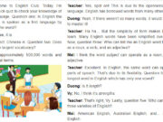 Getting Started Unit 9 trang 30-31 SGK tiếng Anh lớp 9 thí điểm: Read the conversation again and find the nouns of the adjectives simple and flexible.
