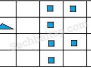 Bài 1, 2, 3 trang 91 VBT Toán lớp 4 tập 2: Một cửa hàng bán vải trong tháng 10 bán được 3250m, tháng 11 bán được 2500m và tháng 12 bán được 3500m vải. Hãy viết chữ số thích hợp vào chỗ chấm trong biểu đồ dưới đây