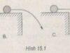 Bài 15.2, 15.3, 15.4, 15.5 trang 36 SBT Lý 10: Gia tốc của chuyển động ném ngang là gia tốc rơi tự do là đúng ?