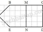 Bài 1, 2, 3 trang 92 VBT Toán 3 tập 2: Tính chu vi hình tam giác ABC, hình vuông MNPQ, hình chữ nhật EGHK (có kích thước như hình vẽ). Em có nhận xét gì về chu vi các hình đó
