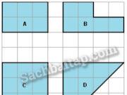 Bài 1, 2, 3, 4 trang 93 Vở bài tập Toán 3 tập 2: Tính diện tích hình H có kích thước ghi trên hình vẽ