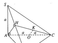 Bài 3.30, 3.31, 3.32 trang 153 SBT Hình học 11: Chứng minh mặt phẳng (SAD) vuông góc với mặt phẳng (SDC) ?