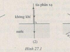 Bài 27.1, 27.2, 27.3, 27.4, 27.5 trang 69 Sách BT Lý 11: Phản xạ toàn phần và phản xạ thông thường giống nhau ở đâu ?