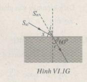 Bài VI.6, VI.7, VI.8, VI.9, VI.10 trang 74 SBT Vật Lý 11: Tính độ cao thực của Mặt Trời so với đường chân trời ?