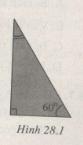 Bài 28.1, 28.2 trang 75 SBT môn Lý 11: Góc tới r2 ở mặt thứ hai của lăng kính có dạng gì ?