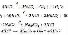 Bài 1, 2, 3, 4, 5 trang 191 SGK Hóa 10 Nâng cao: Luyện tập chương VI – nhóm ôxi