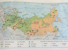 Bài 8. Tiết 1: Tự nhiên, dân cư và xã hội – Địa lí 11: Tài nguyên khoáng sản của LB Nga thuận lợi để phát triển những ngành công nghiệp nào?