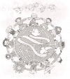 Tiết 3 – Ôn tập cuối kì 2 – Tuần 35 Trang 78 Vở bài tập Tiếng Việt 3 tập 2: Viết tiếp để hoàn chỉnh các khổ thơ sau của bài Một mái nhà chung