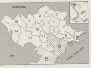 Bài 32. Vấn đề khai thác thế mạnh ở Trung du miền núi Bắc Bộ SBT Địa lớp 12: Đặt tên các tỉnh được đánh số trong lược đồ ?