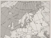 Bài 57. Khu vực Tây và Trung Âu SBT Địa lớp 7 trang 125,126: Điền tên các nước ở tây và Trung Âu lên lược đồ