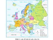 Bài 21. Một số nước ở châu Âu – Địa lí 5: Quan sát hình 1, hãy tìm vị trí địa lí và đọc tên thủ đô nước Pháp.