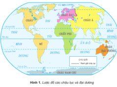 Bài 28. Các đại dương trên thế giới – Địa lí lớp 5: Ấn Độ Dương giáp các châu lục và đại dương nào?